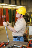 Factory Safety Inspection — Stock Photo