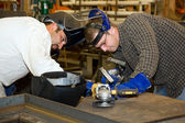 Welders Teamwork — Stock Photo