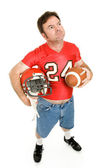 Football Fan - Nostalgic — Stock Photo