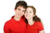 Fidanzatini di high school — Foto Stock