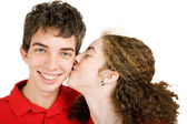 Teen Couple - In Love — Stock Photo