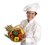 Chef Series - Healthy & Happy — Stock Photo