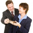 Stock Photo: Business Gift