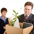 Corporate Downsizing — Stock Photo