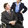 Disability in Business — Stock Photo