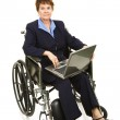 Disabled Businesswoman - Serious — Stock Photo #6700918