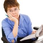 Discouraging Job Hunt — Stock Photo #6700929
