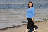 Stroll on the Beach — Stock Photo