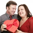 Cute Valentine Couple — Stock Photo
