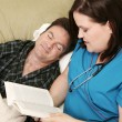 Home Health - Asleep — Stock Photo