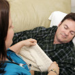 Stock Photo: Home Health - Naptime