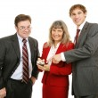 Business Team PDA — Stock Photo