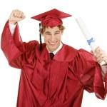 Enthusiastic Graduate — Stock Photo #6717568
