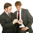 Mentor Series - Businessmen — Stock Photo