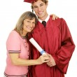 Proud Mom & Graduate — Stock Photo