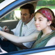Driving Test — Stock Photo