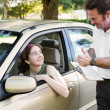 Driving Test - You Passed — Stock Photo