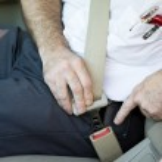 Fastening Seatbelt — Stock Photo #6717885