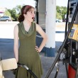 Shocked by Gas Prices - Stock Photo