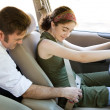Teen Driver - Fasten Your Seatbelt — Stock Photo