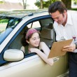 Teen Driver Passed Test — Stock Photo