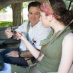 Подросток вождения тест начинается — Стоковое фото