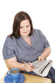 Businesswoman - Job Search — Stock Photo