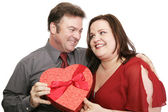 Cute Valentine Couple — Stock Photo