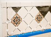 Ceramic Tile Wall — Stock Photo