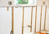 Home Remodel - Insulated Walls — Foto de Stock