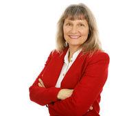 Friendly Businesswoman or Realtor — Stock Photo
