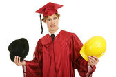 Graduate - Confused by Career Choices — Stock Photo