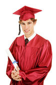 Handsome Grad — Stock Photo