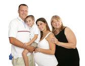 Loving Extended Family — Stock Photo