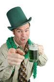 Drunk On St Patricks Day — Stock Photo