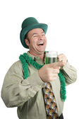 St Paddy's Day Drunk Laughter — Stock Photo