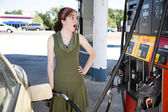 Shocked by Gas Prices — Stock Photo