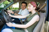 Teen Drivers Education — Stock Photo