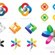 Set of Vector Icons 1 — Stock Vector