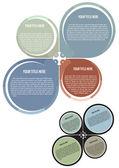 海报和宣传册矢量概念 — 图库矢量图片