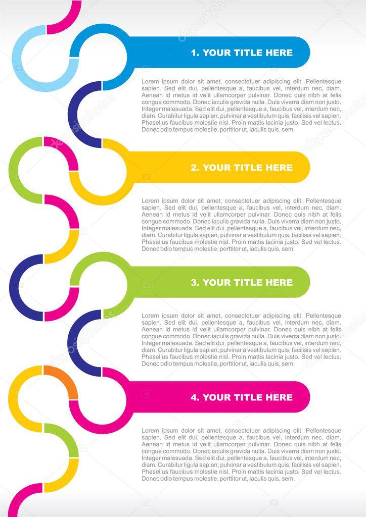 Concepto de folletos y carteles — Vector de stock © rostizna ... | 724 x 1024 jpeg 101kB