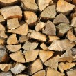 Texture of stored light wood cut — Stock Photo #6583121