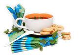 čaj servírovací. — Stock fotografie