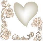Wedding pattern — Stock Vector