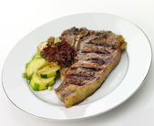 T bone steak — Stock Photo