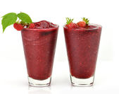 Cold fruit drinks — Stock Photo