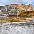 Mammoth Hot Springs in Yellowstone National Park — Stock Photo