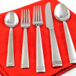 Stock Photo: Silverware set