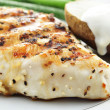 Grilled chicken breast - Foto Stock