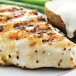 Grilled chicken breast - Stok fotoraf